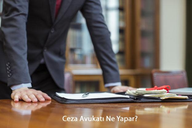 Ceza Davası Avukatı Ne Yapar